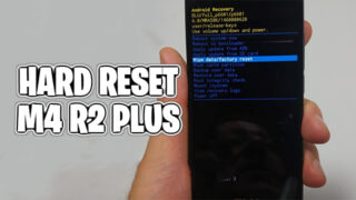 hard reset m4 r2 plus
